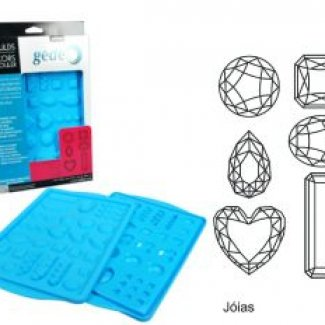 MOLDE SILICONE JOIAS 20X30