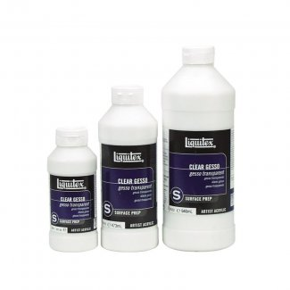 LIQUITEX GESSO TRANSPARENTE  473ML
