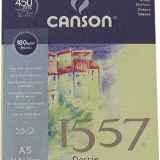 BLOCO CROQUIS 1557 A5 30 FLS 180 GRS CANSON