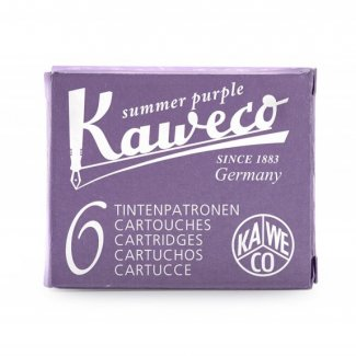 KAWECO INK CARTRIDGES 6 PC SUMMER PURPLE