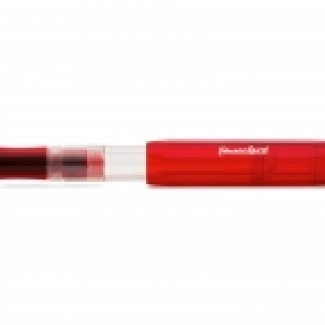 KAWECO ICE SPORT FOUNTAIN PEN RED F 0.7 MM