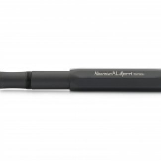 KAWECO AL SPORT FOUNTAIN PEN BLACK  EF