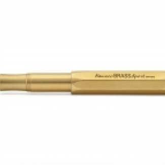 KAWECO BRASS SPORT FOUNTAIN PEN F