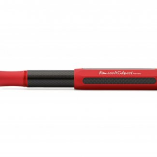 KAWECO AC SPORT FOUNTAIN PEN RED F