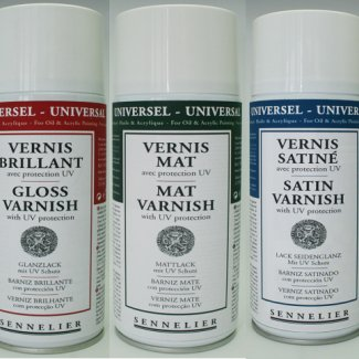 VERNIZ UNIVERSAL SENNELIER BRILHANTE SPRAY 400  ML