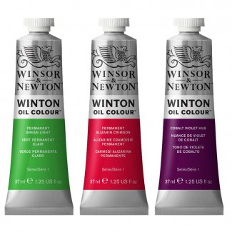 OLEO WINTON & NEWTON TERRA VERDE 637 37 ML