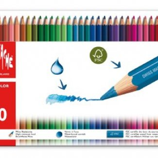 CARAN D´ACHE FANCOLOR CX METALICA  40  CORES