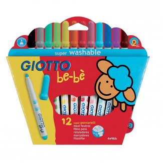 GIOTTO BE-BE SUPER MARCADORES CX. 12 UDS.