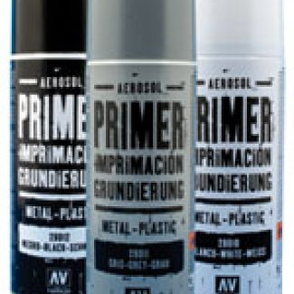 SPRAY PRIMARIO VALLEJO 400ML PRETO