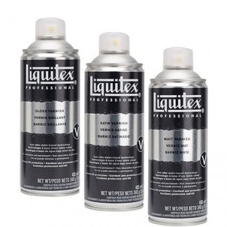 VERNIZ LIQUITEX BRILHANTE SPRAY 400ML