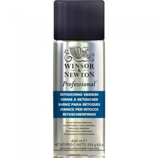 VERNIZ RETOQUE SPRAY WINSOR & NEWTON 400 ML