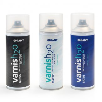 VERNIZ  MATE  GHIANT H20 SPRAY 400ML