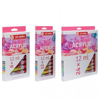 CAIXA ACRILICO ARTCREATION SET 8 CORES 12 ML