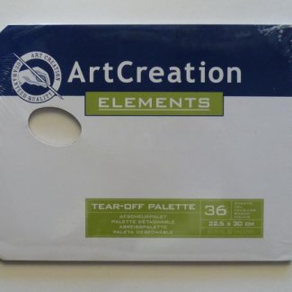 PALETA DESCARTAVEL ARTCREATION 22,5X30COM 36