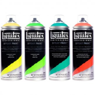 SPRAY LIQUITEX 400 ML AMARELO CADMIO ESCURO 5
