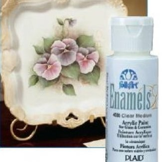 TINTAS ENAMELS CLEAR MEDIUM