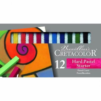 HARD PASTEL STARTER SET CX 12 CORES  CRETACOLOR