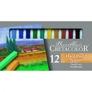 HARD PASTEL NATURE  SET CX 12 CORES  CRETACOLOR