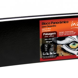 BLOCO PANORAMICO INART 180GR 30X13  - 60 FOLHAS