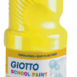 GIOTTO GUACHE ESCOLAR AZUL CYAN 1000 ML