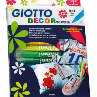 GIOTTO DECOR TEXTIL CAIXA 6 UND.
