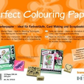 COPIC BLOCO PERFECT COLOURING A4 10 FOLHAS