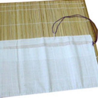 PORTA PINCEIS BAMBU NATURAL 33 X 33